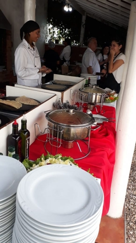 Buffet Crepes Franceses