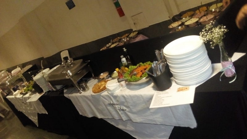Buffet de Massas e Crepes